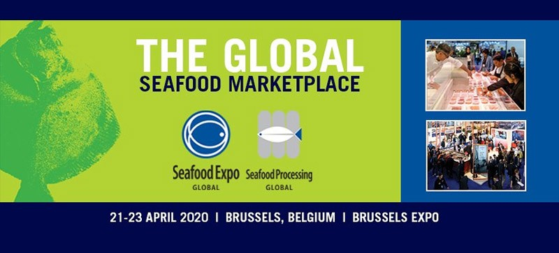 Seafood Global à Bruxelles du 21 au 23 avril 2020